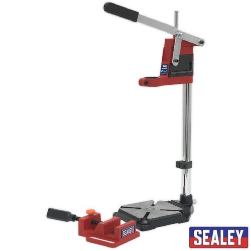 Drill Stand with Cast Iron Base 500mm & 65mm Vice