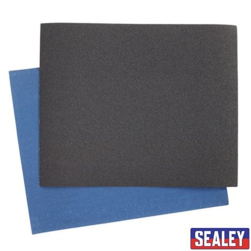Emery Sheet Blue Twill 230 x 280mm 80Grit Pack of25