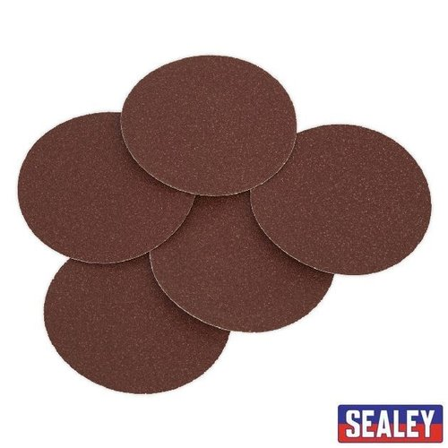 Sanding Disc 125mm 80Grit Adhesive Backed 5pce