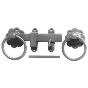 125mm No.1136 Plain Ring Handled Gate Latch Galv