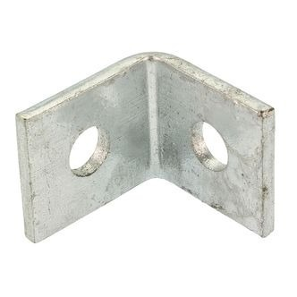 One Hole One Hole Angle Frame Bracket 90 Degree HDG